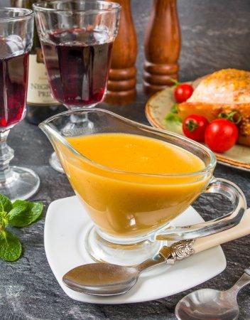 Имбирно-апельсиновый соус к мясу
