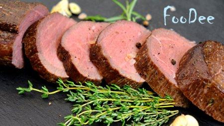 Мясо шиворот-навыворот в духовке