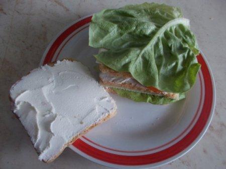 Клаб-сэндвич с сыром