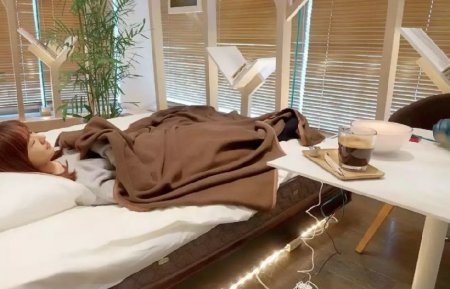 В Японии открыли комфортабельное кафе для сна