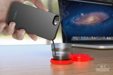 Владельцы нового чехла для смартфона смогут варить себе кофе