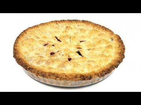 Американский пирог с ягодами