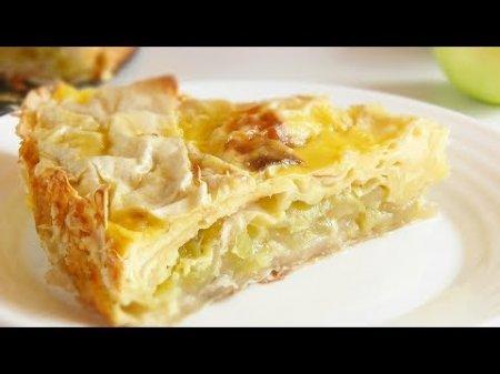 Быстрый простой яблочный пирог