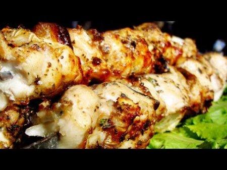 Рецепт шашлыка из толстолобика + соус