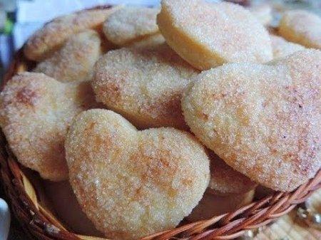 Домашнее творожное печенье