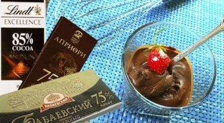 Шоколадный мусс за 5 минут
