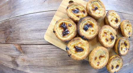 Паштейш де Ната — португальское пирожное