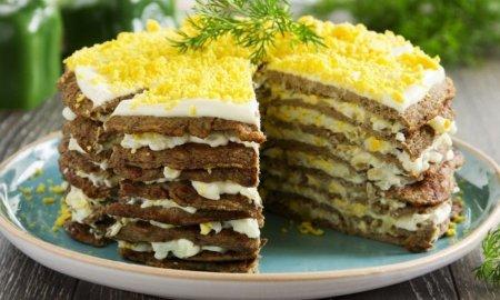 Мясной торт