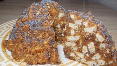 Торт «Муравейник» за считанные минуты без выпечки